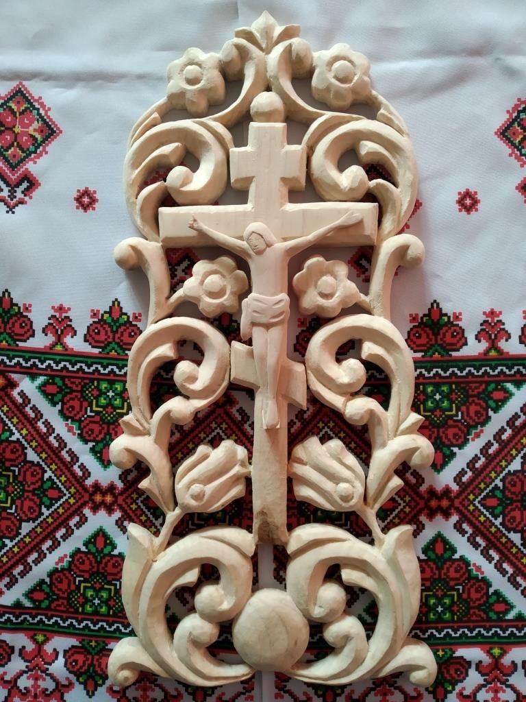 Кравчук Ростислав -Дорога до Бога (рiзьблення по дереву)
